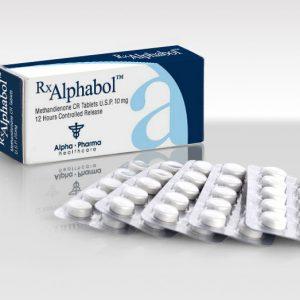 Dianabol Alphabol 10mg x 50 tablets Alpha Pharma