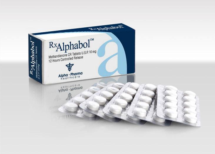 Dianabol Alphabol 10mg x 50 tablets Alpha Pharma   Pharma