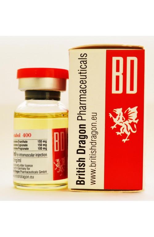 Test 400mg/ml (British Dragon) | Pharma 4 Athletes